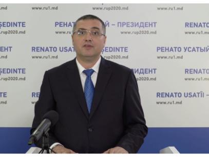 """LIVE/ Candidatul Partidului Nostru, Renato Usatîi, s-a lansat oficial în campania electorală: """"Voi fi mereu sluga poporului"""""""
