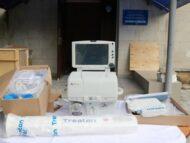 Echipament de ventilare artificială, donat unui spital din capitală antrenat în tratarea pacienților cu COVID-19