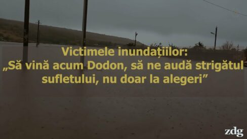 """Victimele inundațiilor din Găgăuzia: """"Să vină acum Dodon, să ne audă strigătul sufletului, nu doar la alegeri"""""""