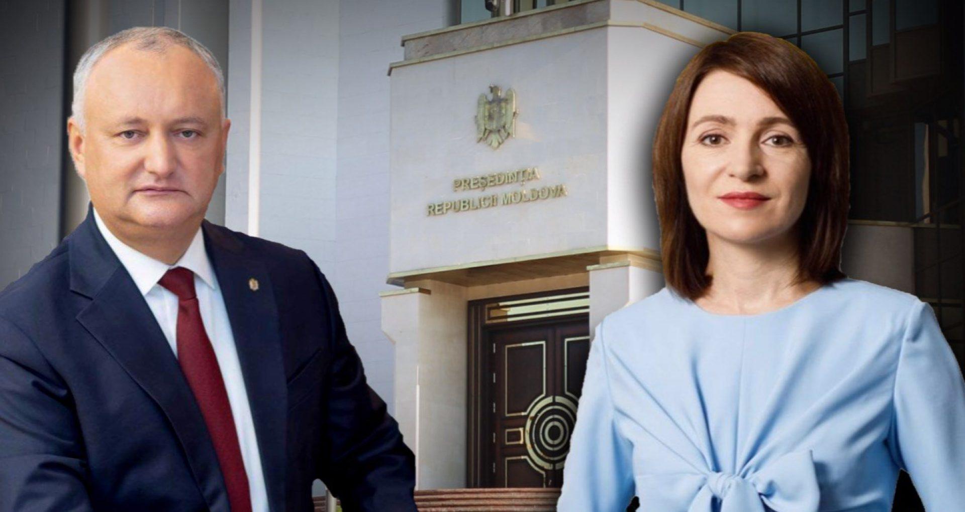 LIVE/ Rezultate oficiale ale alegerilor prezidențiale 2020: Maia Sandu câștigă cursa pentru fotoliul de președinte