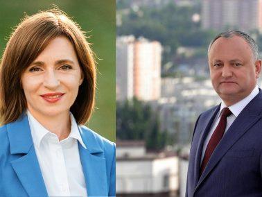 VIDEO/ Duelul alegătorilor de la baștina candidaților