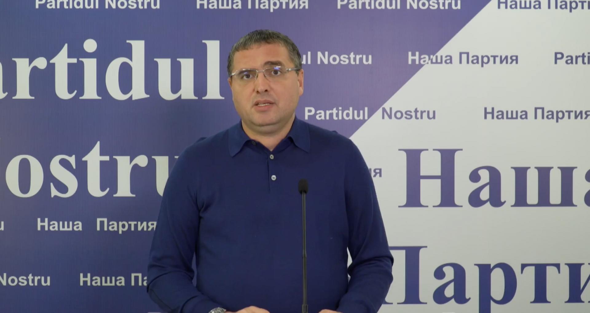 """VIDEO/ Blocul electoral """"Renato Usatîi"""", înregistrat oficial la CEC"""