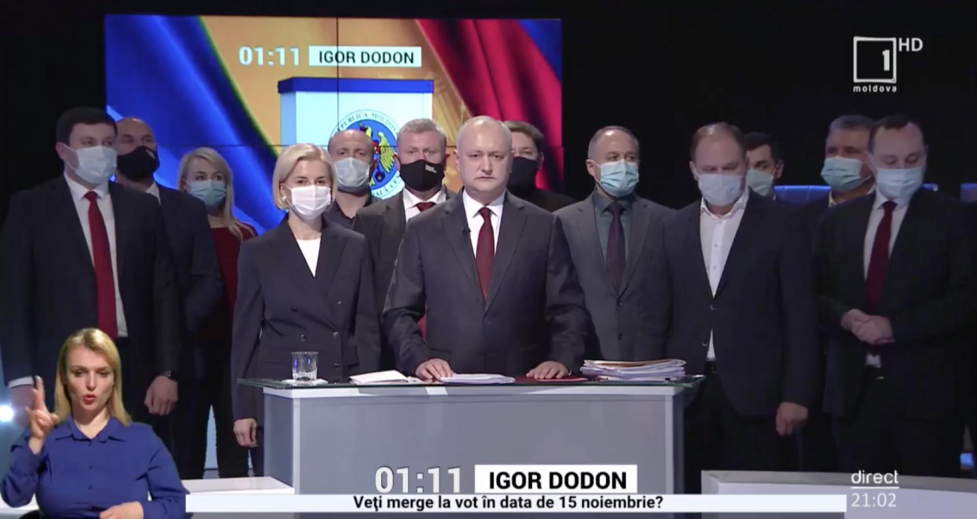 Promo-LEX despre dezbaterea din 12 noiembrie de la Moldova 1: Au fost încălcate prevederile Acordului de Parteneriat. S-a constatat o serie de acțiuni concertate între un concurent electoral și conducerea Postului Public