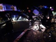 VIDEO, FOTO/ Grav accident rutier lângă Căpriana, Strășeni. Un om a murit, iar alți șapte, inclusiv doi copii, au fost răniți