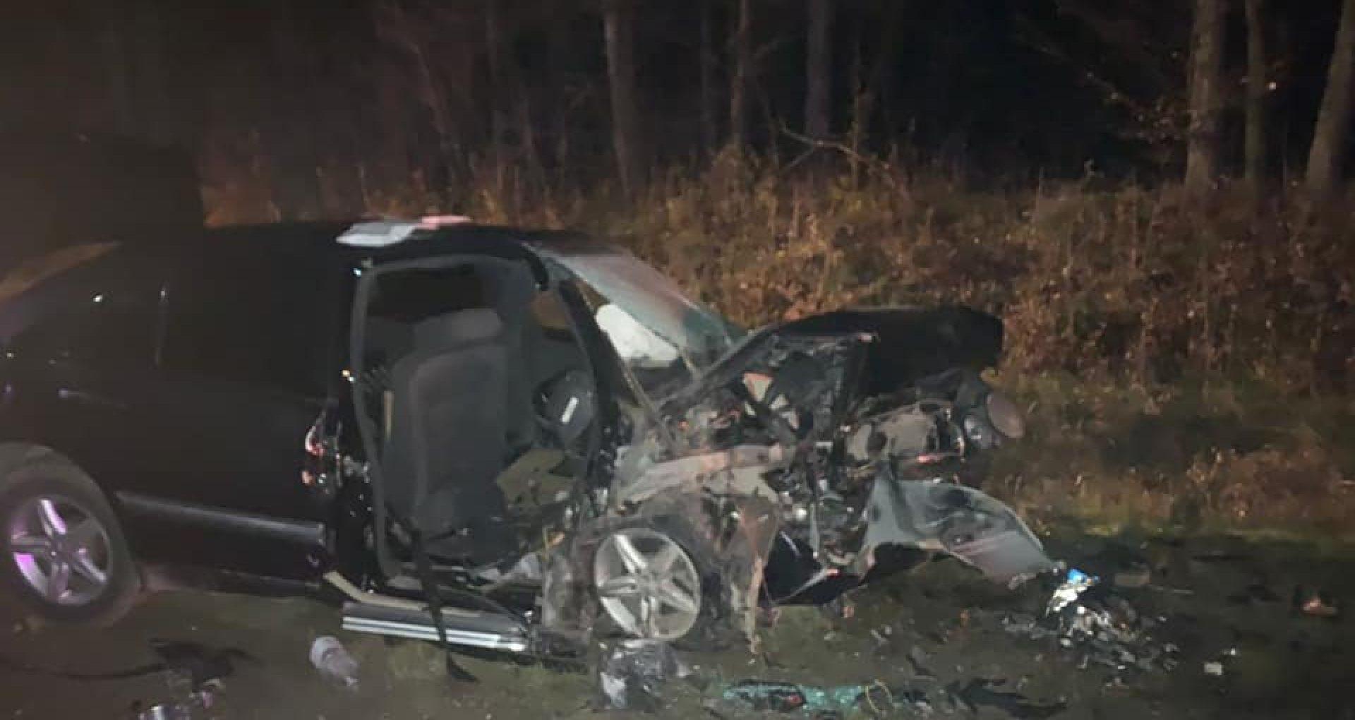 FOTO/ Poliția: Accidentul fatal din raionul Strășeni s-ar fi produs din cauza unei depășiri periculoase