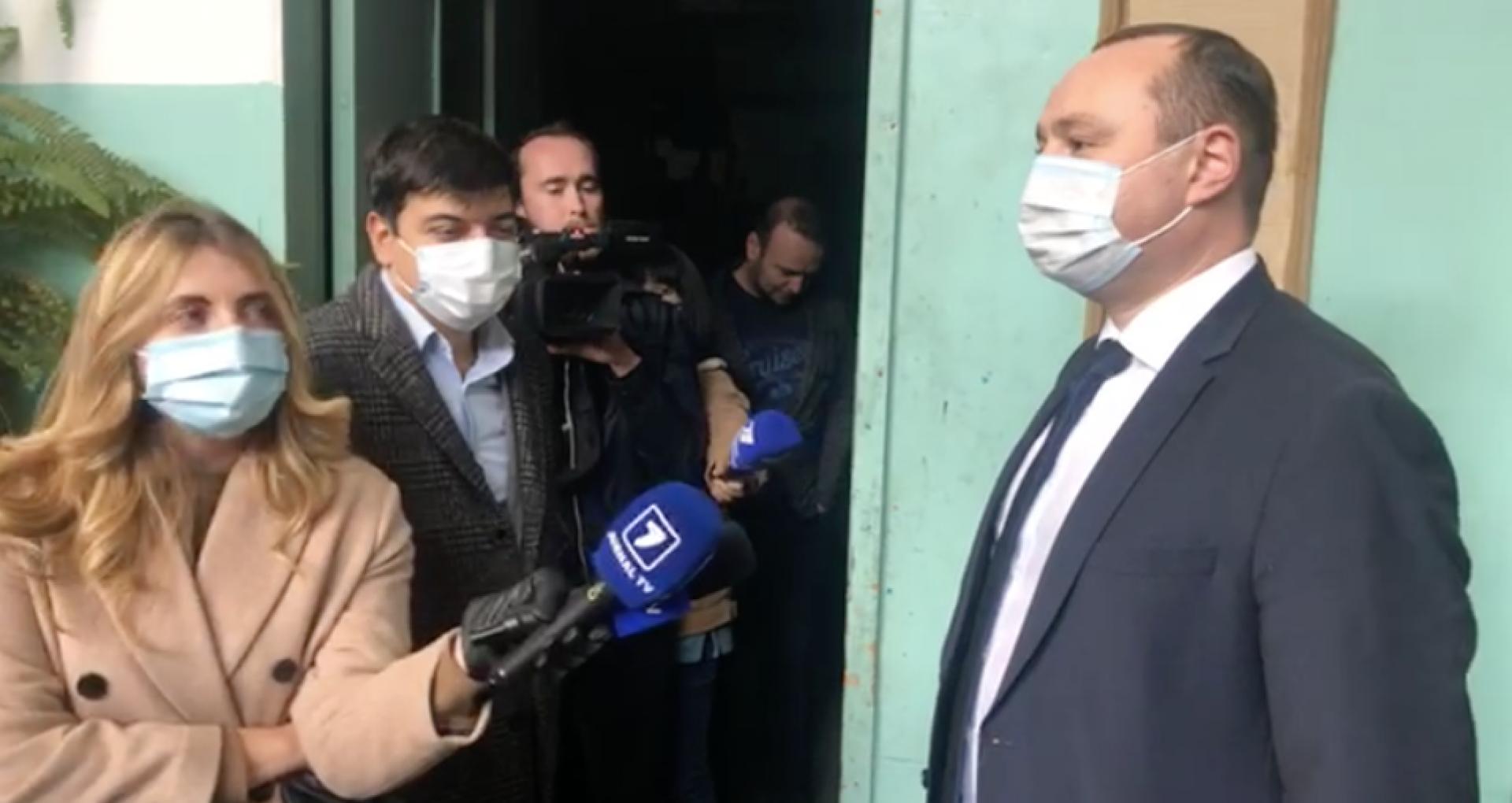 Stafful lui Igor Dodon condamnă evenimentele de la tipografia Universul: Este o acțiune ilegală de blocare a materialelor cu caracter  electoral, organizată de către reprezentanții oponentului