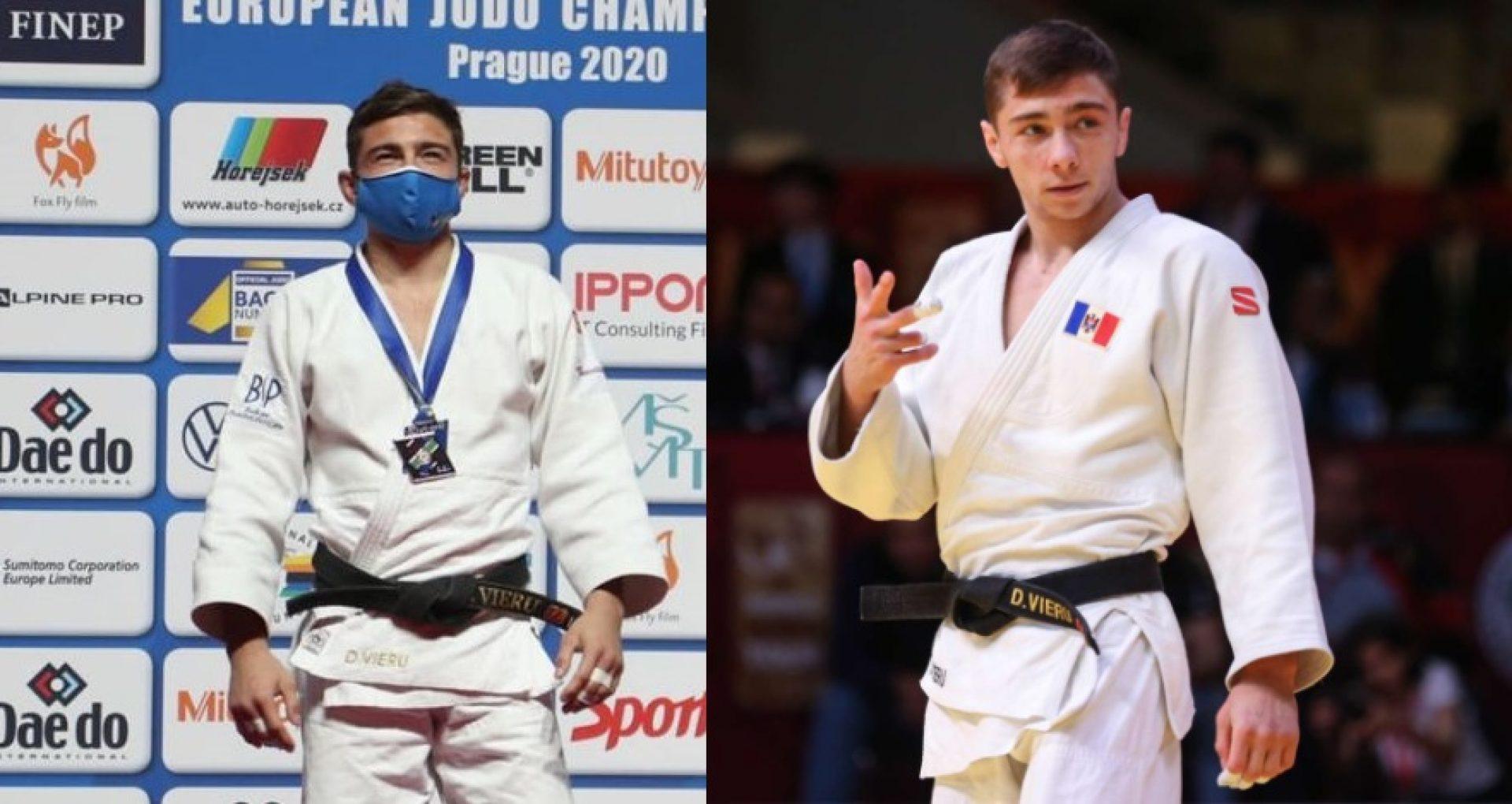Medalie de aur şi bronz la Campionatul European de Judo pentru R. Moldova