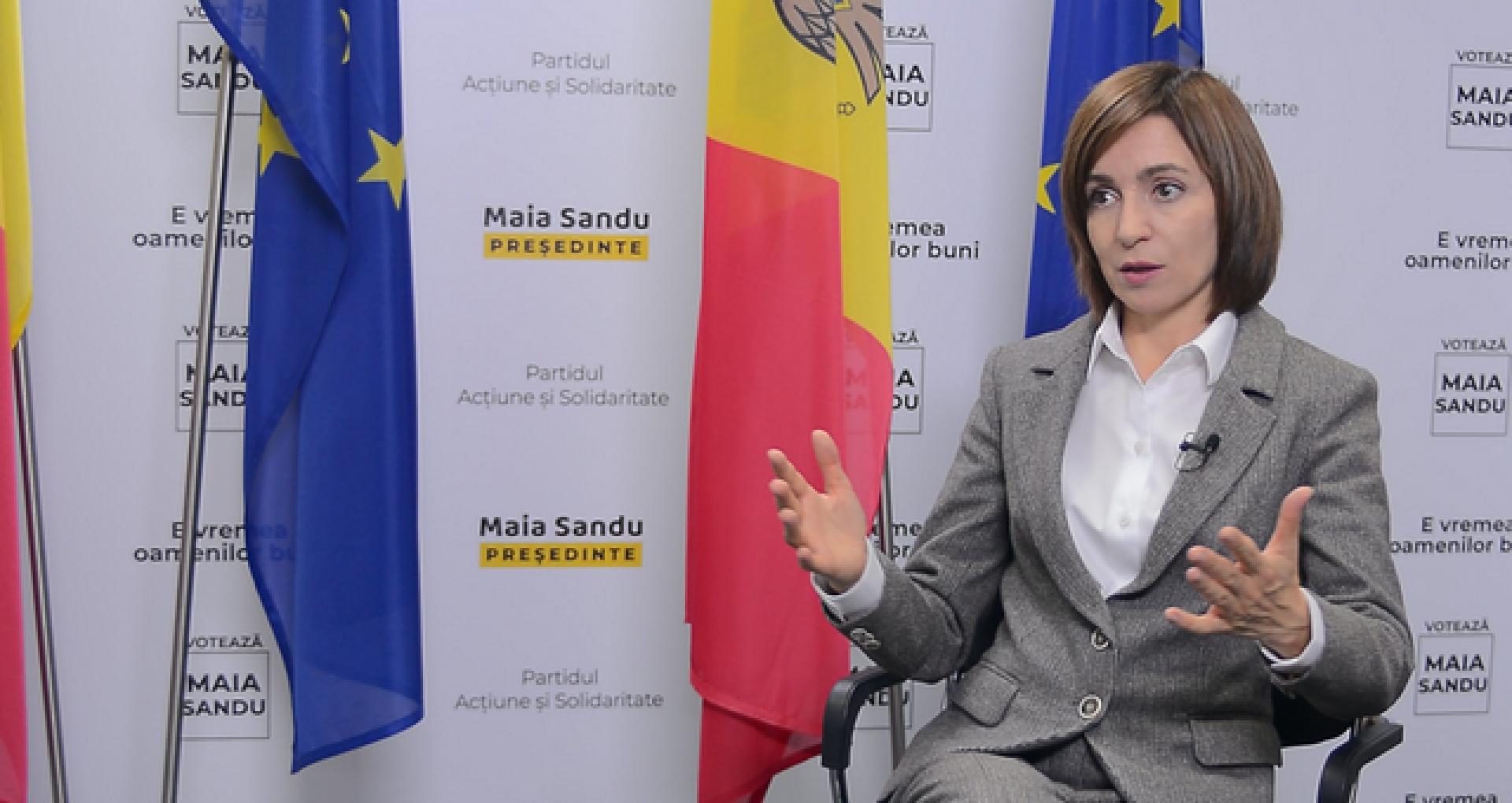 Maia Sandu: Trupele ruse trebuie evacuate de pe teritoriul R. Moldova. Reprezentanți ai Moscovei reacționează