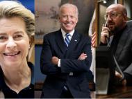 Liderii UE au vorbit la telefon cu Joe Biden și l-au invitat pe viitorul președinte SUA la un summit special cu cei 27 de lideri europeni