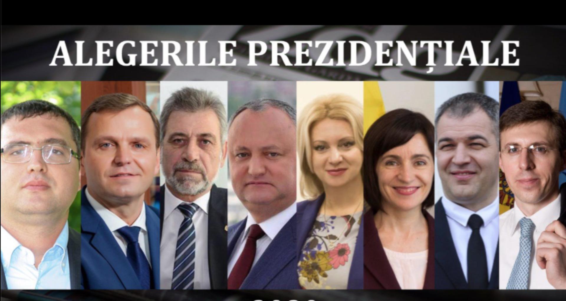 LIVE UPDATE/ Alegeri prezidențiale în R. Moldova: Igor Dodon și Maia Sandu – în turul 2. Diferență de 3% între cei doi