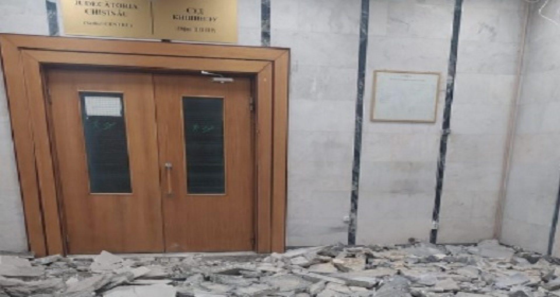 """Magistrații Judecătoriei Chișinău, sediul Centru, acuză Cancelaria de Stat de abuz de putere: """"Suntem somați să eliberăm sediul pentru că aici vor veni alte autorități publice, pentru care se face reparație de lux"""""""