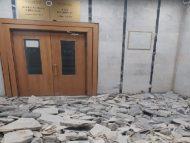 """Magistrații de la Judecătoria Chișinău, sediul Centru, nedumeriți – au ajuns la muncă, iar edificiul se află în reparații: """"Judecătorii nu au fost informați despre o eventuală restricționare a accesului în clădire"""""""