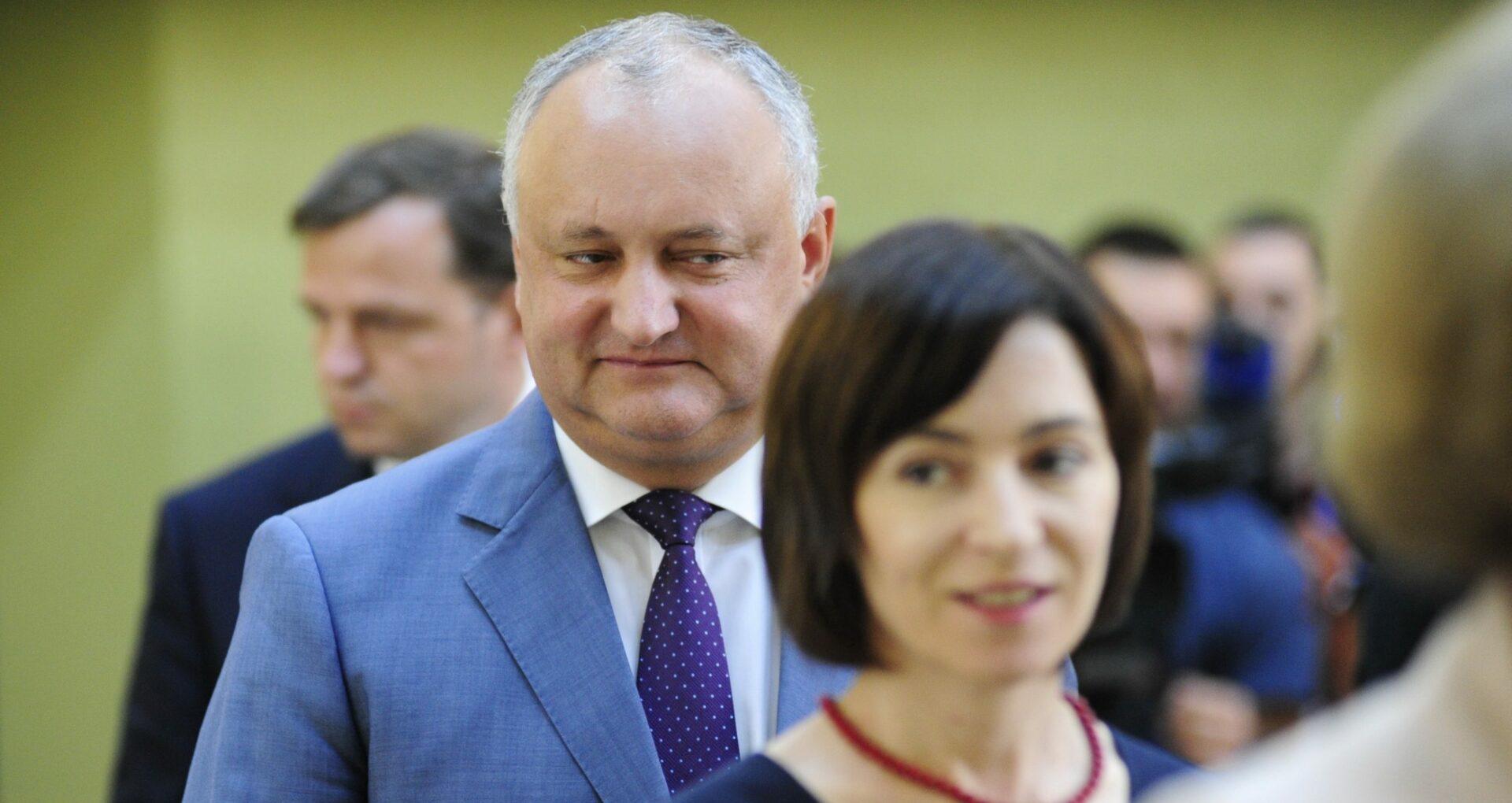 DOC/ Cererea de chemare în judecată depusă de Igor Dodon împotriva Maiei Sandu, trimisă la rejudecare la Judecătoria Chișinău