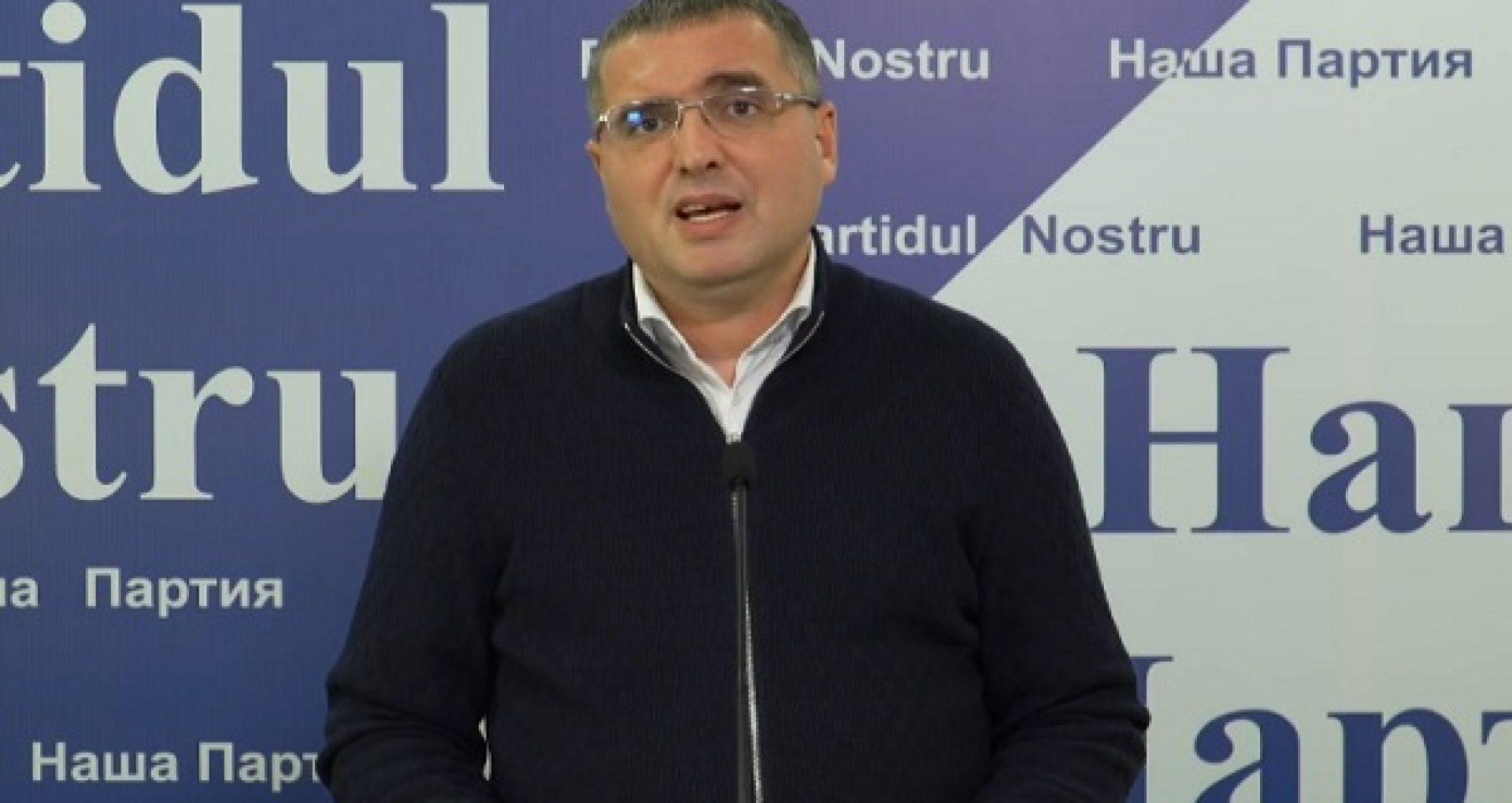 Usatîi anunță despre formarea unui bloc electoral cu care va merge în alegerile parlamentare anticipate din 11 iulie