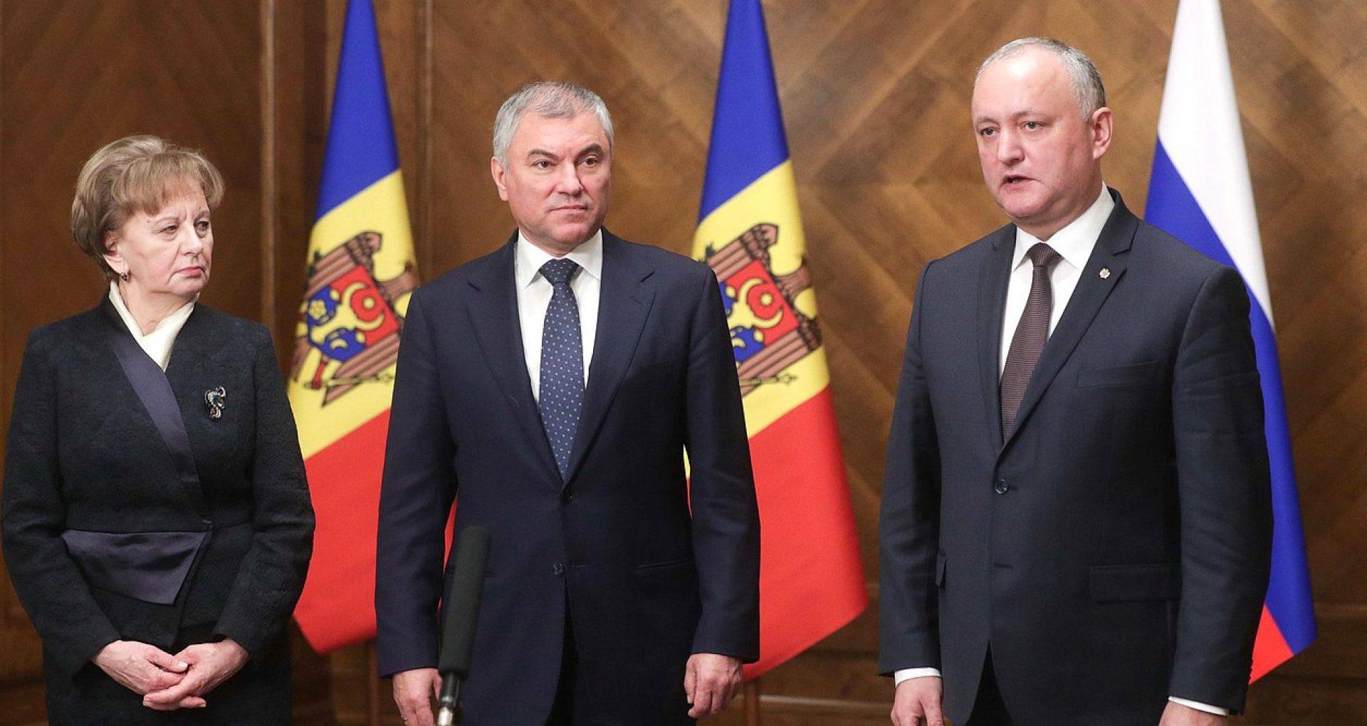 Igor Dodon le-a spus rușilor că odată cu alegerea Maiei Sandu în funcția de președintă, situația din R. Moldova se va agrava