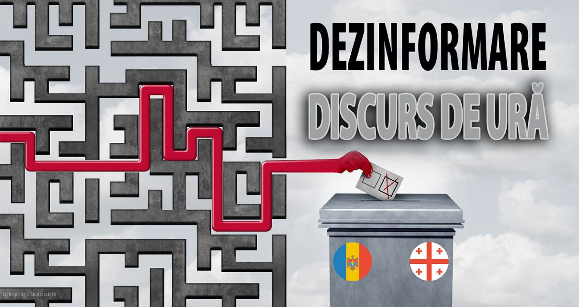 Alegerile din R. Moldova și Georgia: mesaje comune de dezinformare pentru a înăbuși gândirea critică a alegătorilor