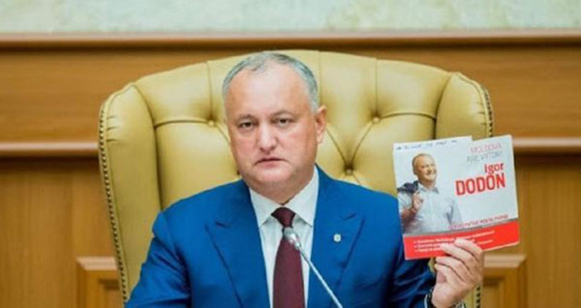 Dodon, despre decizia CC de a declara neconstituțional  decretul președintei Sandu privind desemnarea repetată a unui candidat la funcția de premier: Era previzibil