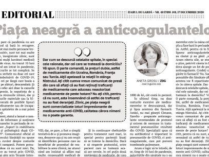 Piața neagră a anticoagulantelor