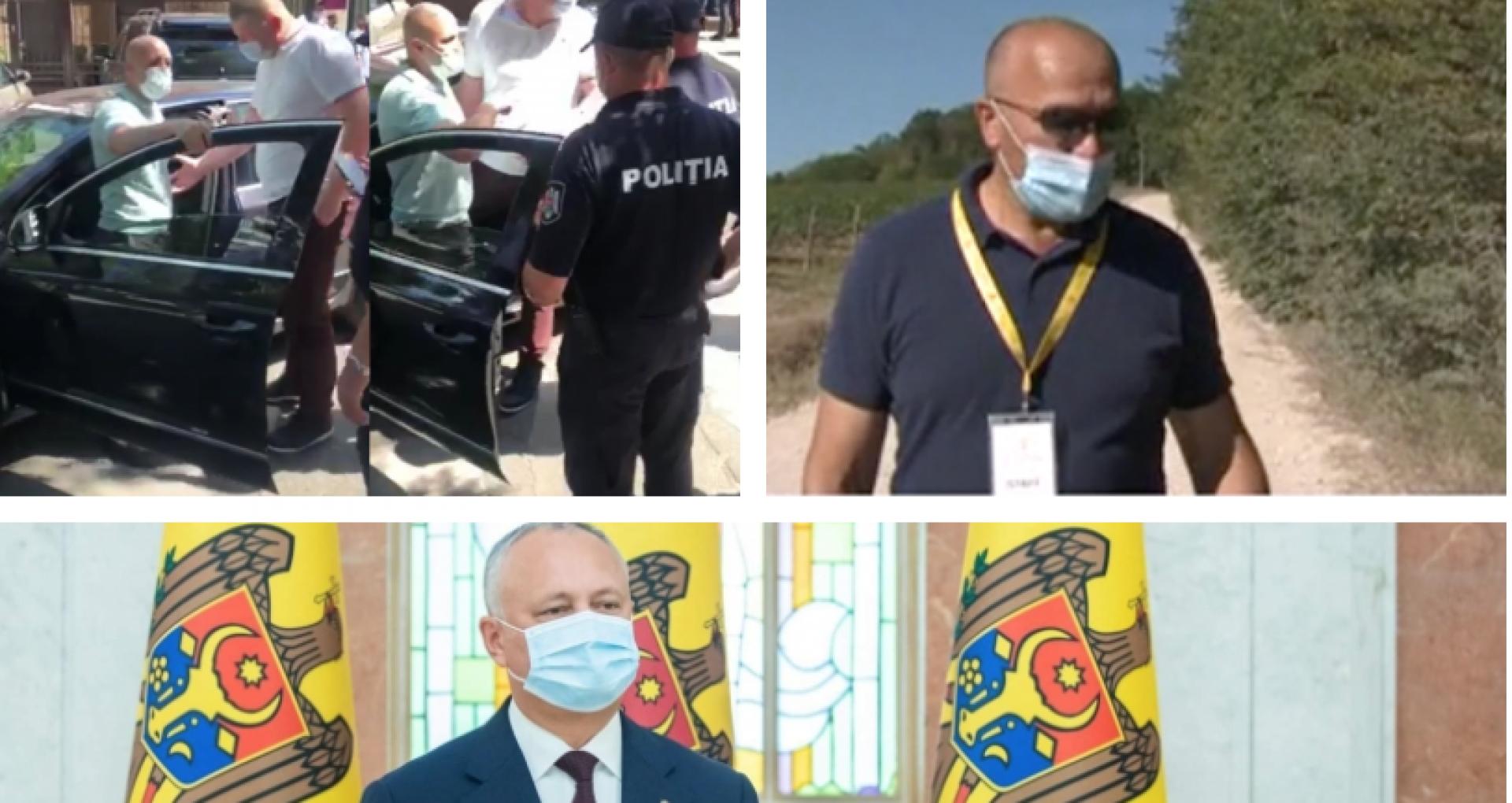 DOC/ Angajatul SPPS care a dat cu mașina peste deputatul Cebotari și altul care a păzit nunta fiului lui Chicu, decorați de Dodon