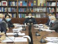 Comisia economie, buget și finanțe a aprobat în cadrul ședinței rapoartele la proiectele privind legea bugetului și politicii fiscale de stat pentru 2021