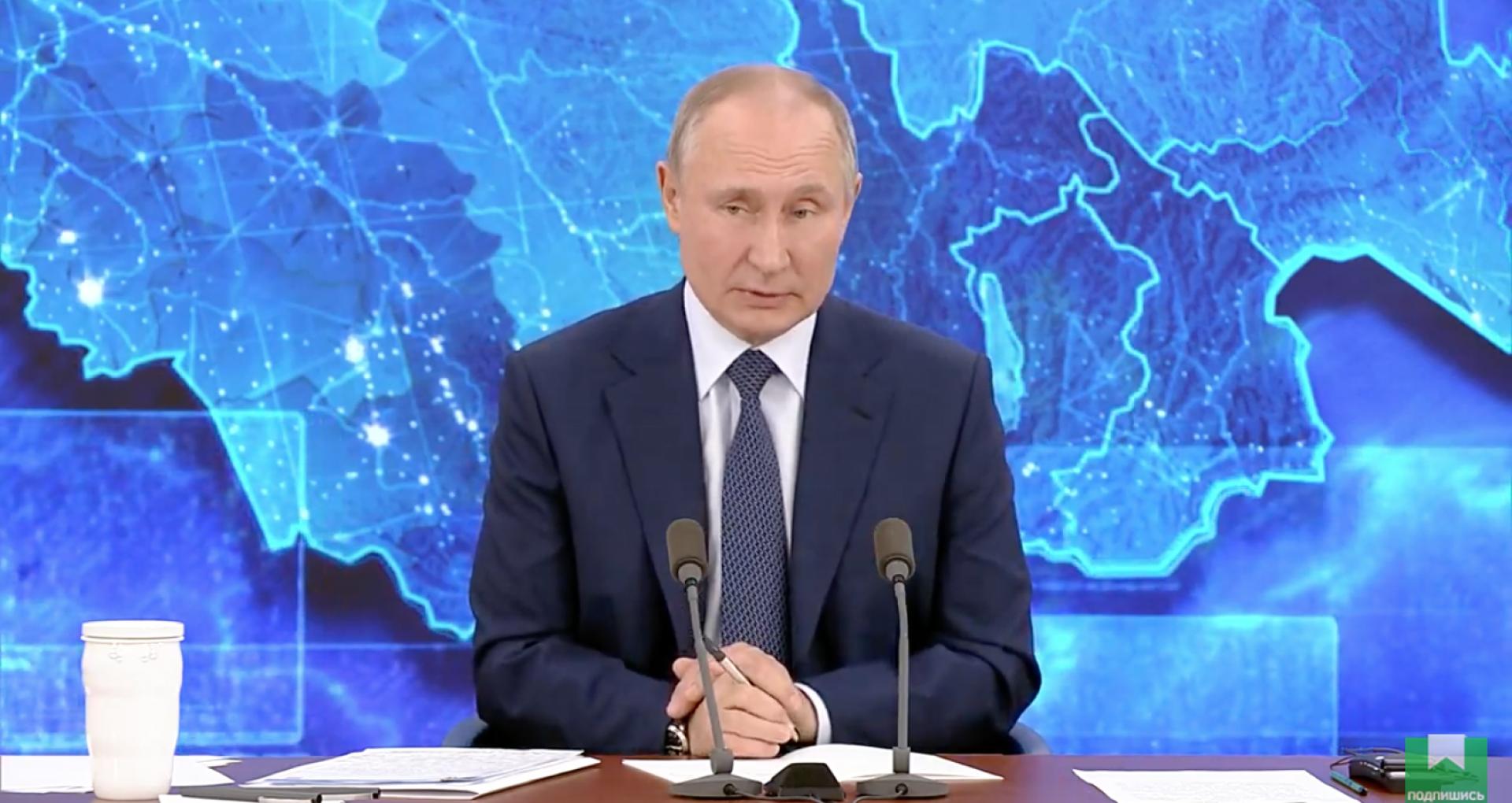 VIDEO/ Vladimir Putin recunoaște că trupele ruse trebuie retrase de pe Nistru, îi urează succes Maiei Sandu, despre care amintește că deține cetățenia română
