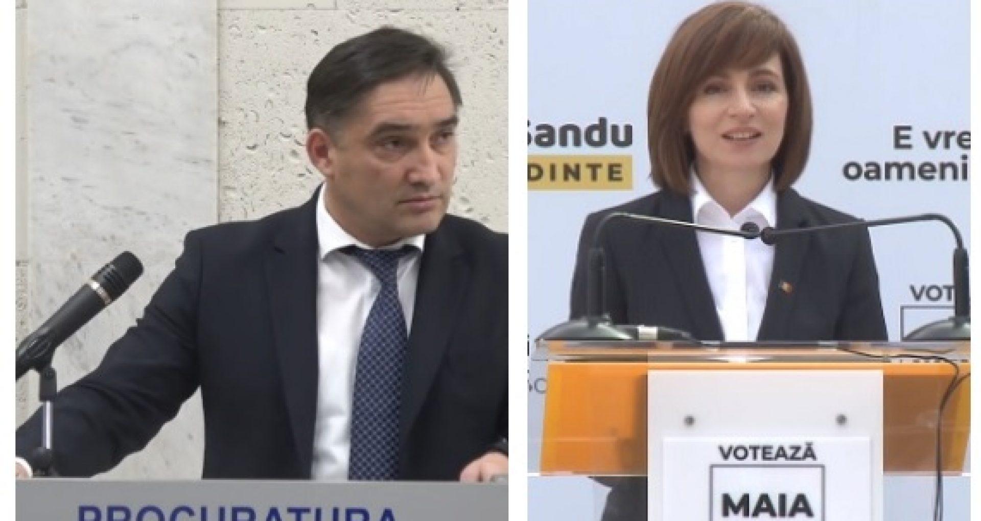 Procurorul general susține că după o întrevedere cu președinta aleasă a R. Moldova, părerea Maiei Sandu, în legătură cu activitatea PG, se va schimba