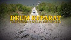 """Drum reparat cu jumătate de milion de lei, plin de gropi. Autoritățile dau vina pe… """"mașinile de mare tonaj"""""""