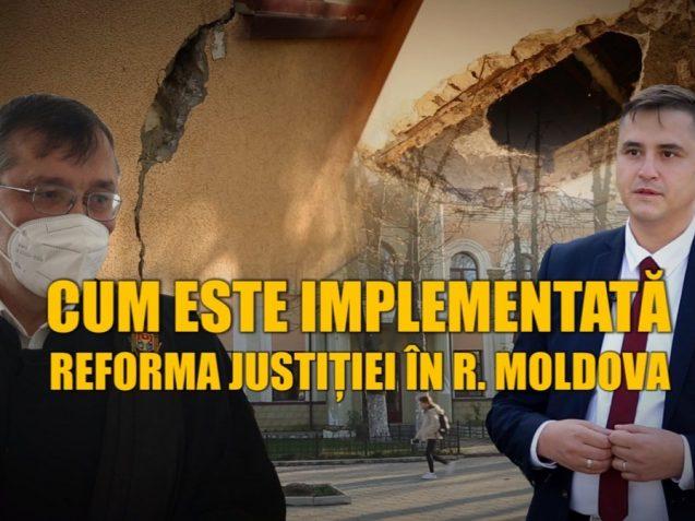 """VIDEO/ """"Oameni buni, cum să vă facem noi justiție, dacă voi nu ne dați condiții elementare de muncă?"""" Cum este implementată reforma justiției în R. Moldova"""