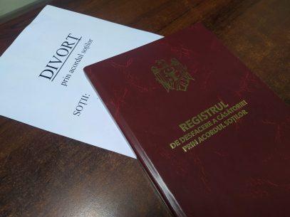 Divorțul la notar: mai simplu, însă mai puțin solicitat
