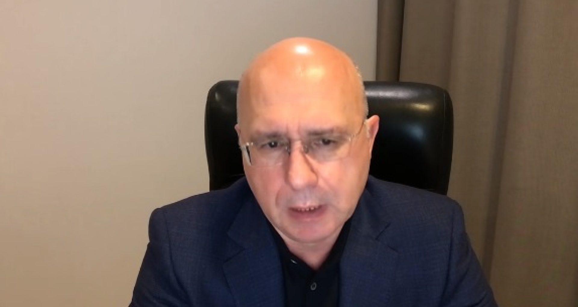 """Pavel Filip, despre politica bugetar-fiscală și bugetul, aprobate de PSRM-Șor: """"E o crimă împotriva poporului"""". Liderul PDM vorbește despre """"schemele cu țigări"""""""
