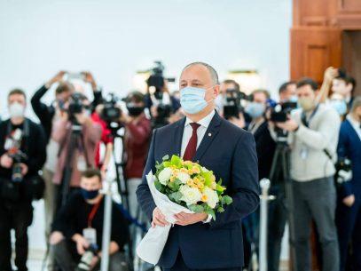 FOTO/ Mesajul fostului președinte Igor Dodon după transmiterea puterii către președinta R. Moldova, Maia Sandu
