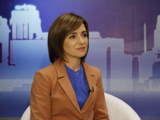 Președinția anunță că Maia Sandu va efectua în zilele următoare o vizită oficială la Bruxelles