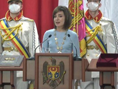 """Discursul integral al Maiei Sandu după învestirea în funcția de președinte al R. Moldova: """"Sunt una dintre voi, un om simplu. Sunt președintele vostru și puteți conta pe mine"""""""
