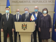 """Deputații din Grupul Parlamentar """"Pro Moldova"""" anunță că nu participă la ședința de astăzi a Parlamentului: Nu vrem să asistăm la lucrările coaliției nou-create"""