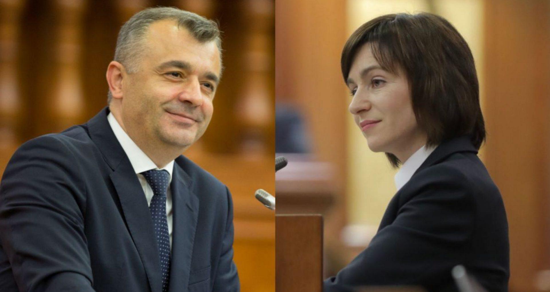 """Ion Chicu, gata să discute cu Maia Sandu: """"Nu am primit o invitație oficială"""""""