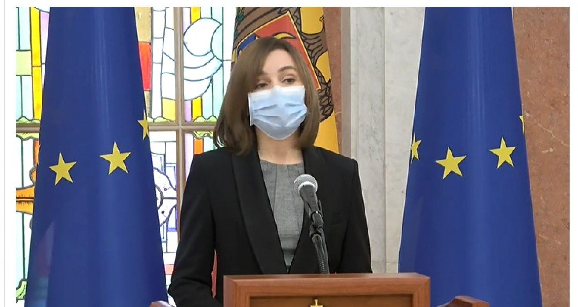 """VIDEO/ Președinta Sandu, după vizita de la Bruxelles: """"UE vrea să vadă progrese reale și nu doar justificări patetice din partea PG și a altor instituții"""""""