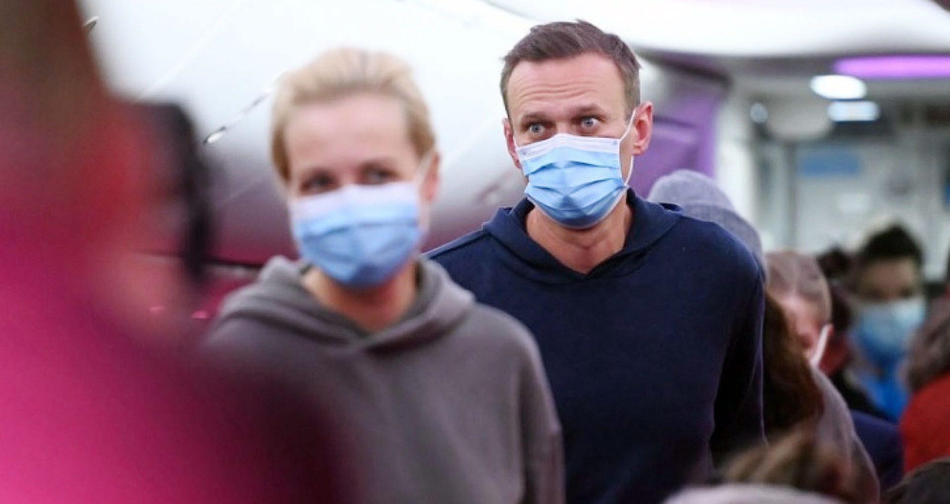 Cronologie: Filmul revenirii opozantului Navalny în Federația Rusă