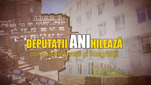 VIDEO/ Legea cu privire la ANI, modificată cu votul unor deputați vizați de controale asupra averilor și intereselor personale