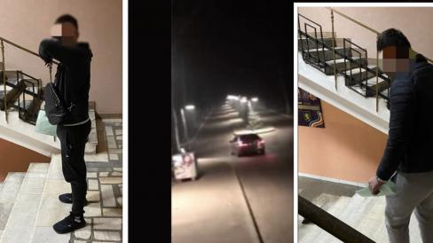 """VIDEO/Curse ilegale în parcul """"Valea Trandafirilor"""". Trei tineri, sancționați pentru încălcarea prevederilor Regulamentului circulației rutiere"""