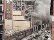 FOTO și VIDEO/ Explozie puternică la Madrid