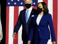 Preşedintele ales al SUA şi Kamara Harris au ajuns la Washington. Primul discurs al lui Joe Biden a fost în memoria victimelor COVID