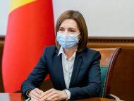 """R. Moldova la un an de pandemie. Președinta Maia Sandu: """"E de datoria noastră, a tuturor, să depunem toate eforturile pentru ca să ieșim cu bine din pandemie"""""""