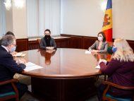 """""""Am pus în discuție subiecte ce vizează situația politică internă"""". Președinta Maia Sandu, întrevedere cu ambasadorul Republicii Franceze în Moldova"""