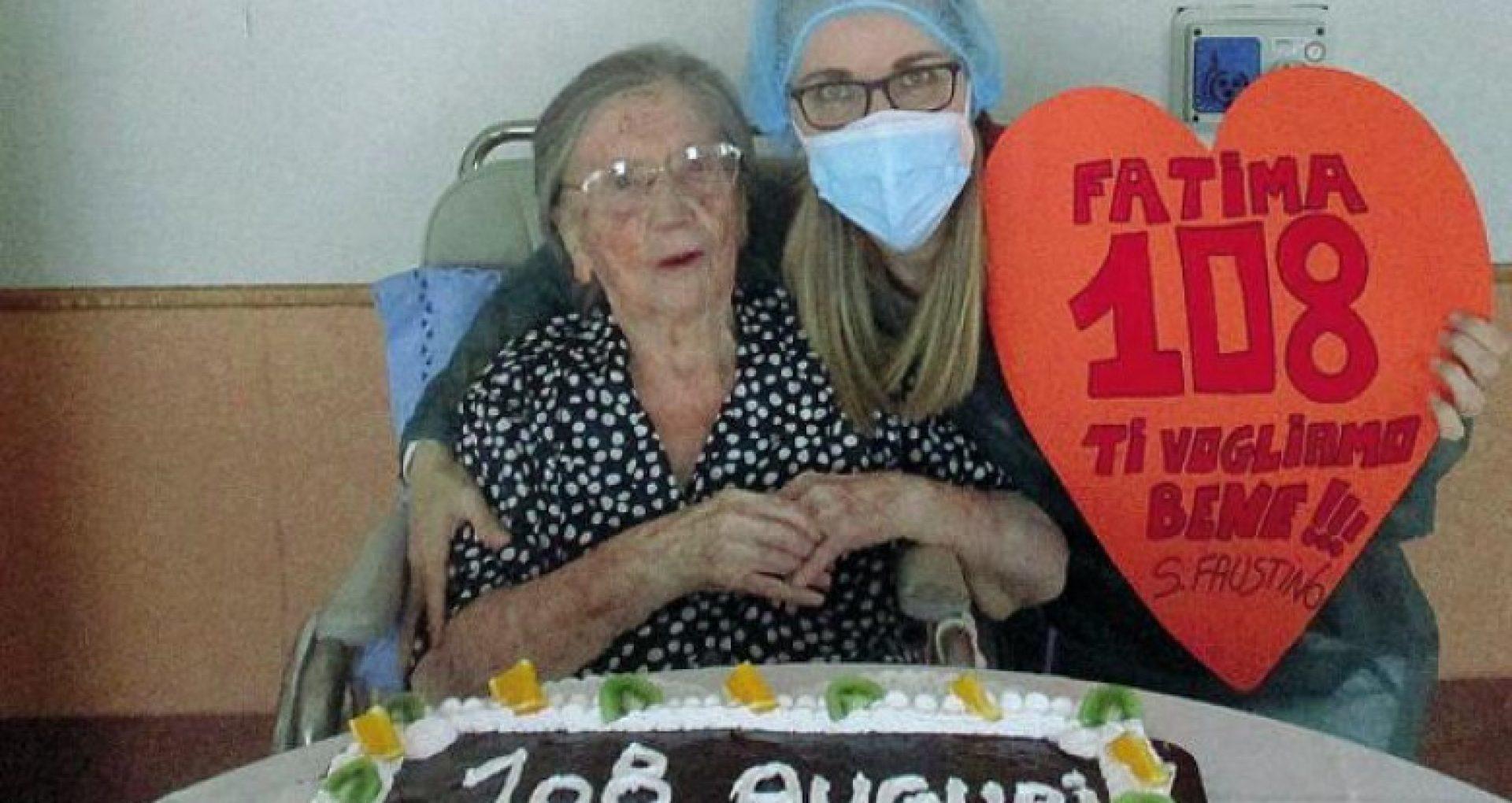 O femeie de 108 ani care s-a vindecat de Covid-19 în luna mai, a fost vaccinată