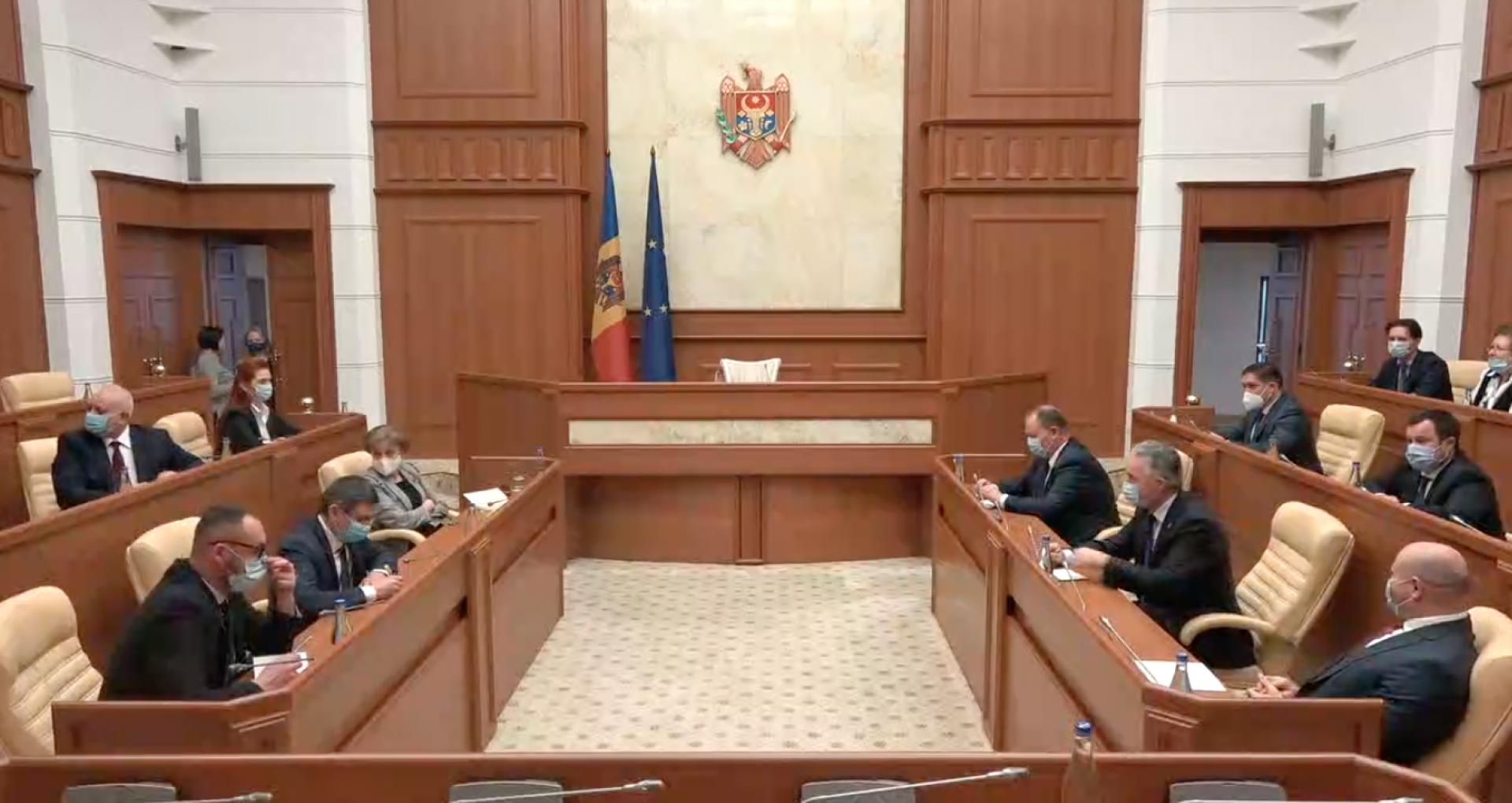 """VIDEO/ Maia Sandu la prima ședință a Consiliului Suprem de Securitate: """"Situația în care ne aflăm este o mare rușine pentru toate instituțiile"""""""
