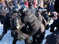 LIVE/ Proteste anti-Putin în Rusia. În jur de 250 de persoane au fost arestate de poliție