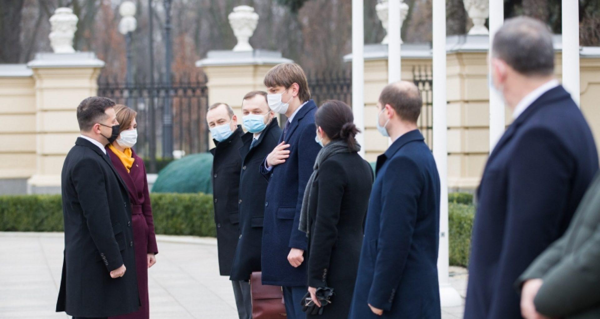 DOC/ Cât a costat vizita delegației prezidențiale la Kiev