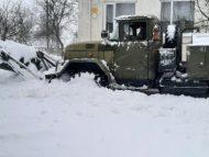 Armata Naţională, pregătită să intervină în zonele afectate de ninsori