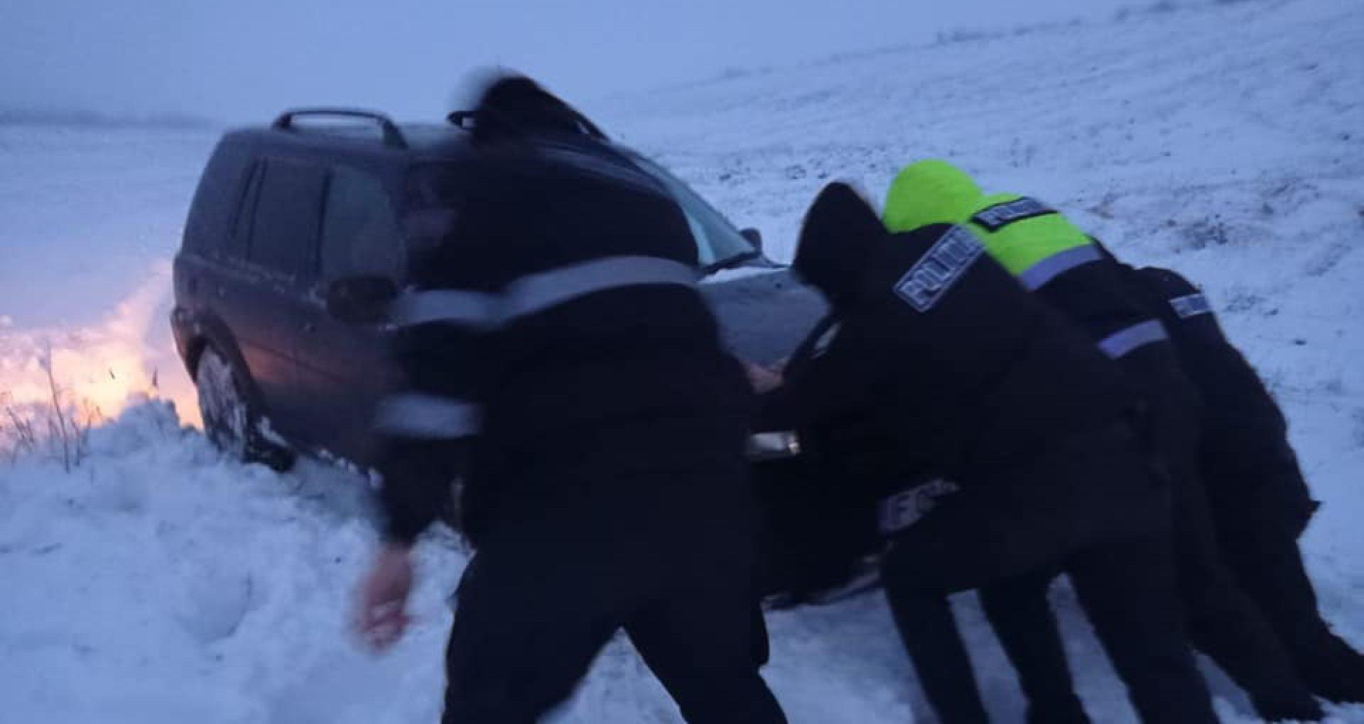 Pe drumurile din țară se circulă cu dificultate. În raioanele din sudul Moldovei au fost convocate ședințe ale Comisiei pentru Situații Excepționale