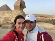 FOTO/ Primarul Chișinăului confirmă că este în vacanță în Egipt